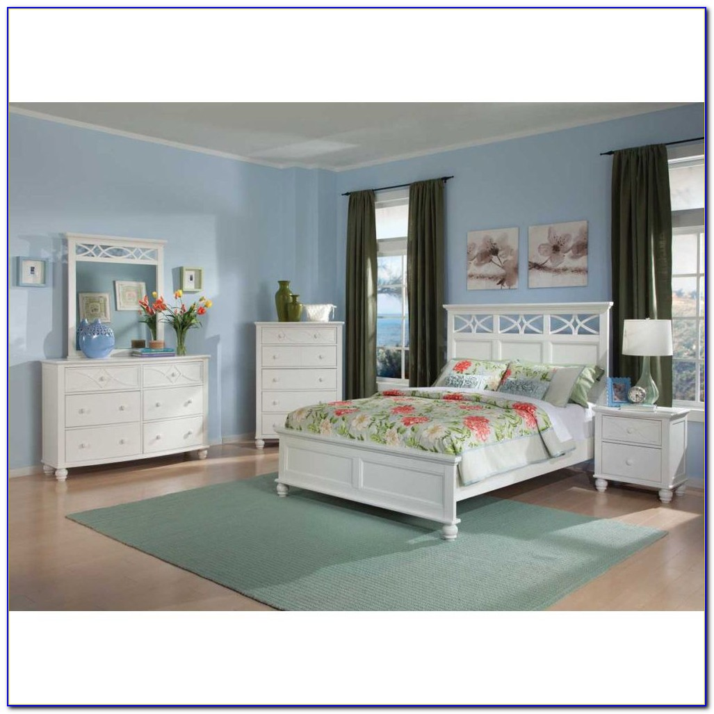 Beach Cottage White Bedroom Furniture