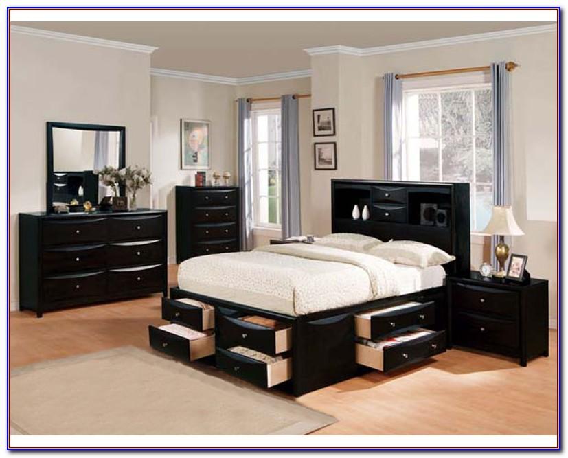 Bedroom Sets Black Wood