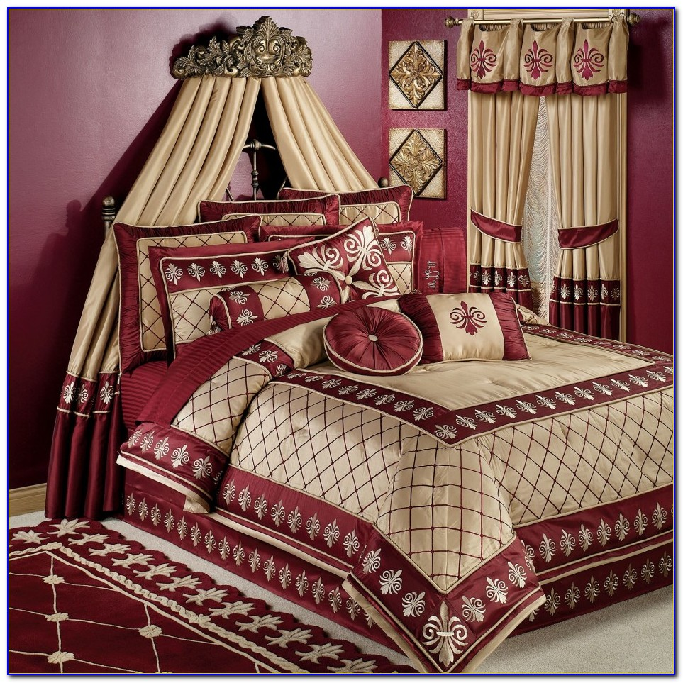 Bedroom Sets Including Curtains