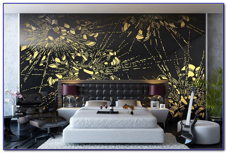 Bedroom Wall Mural Ideas