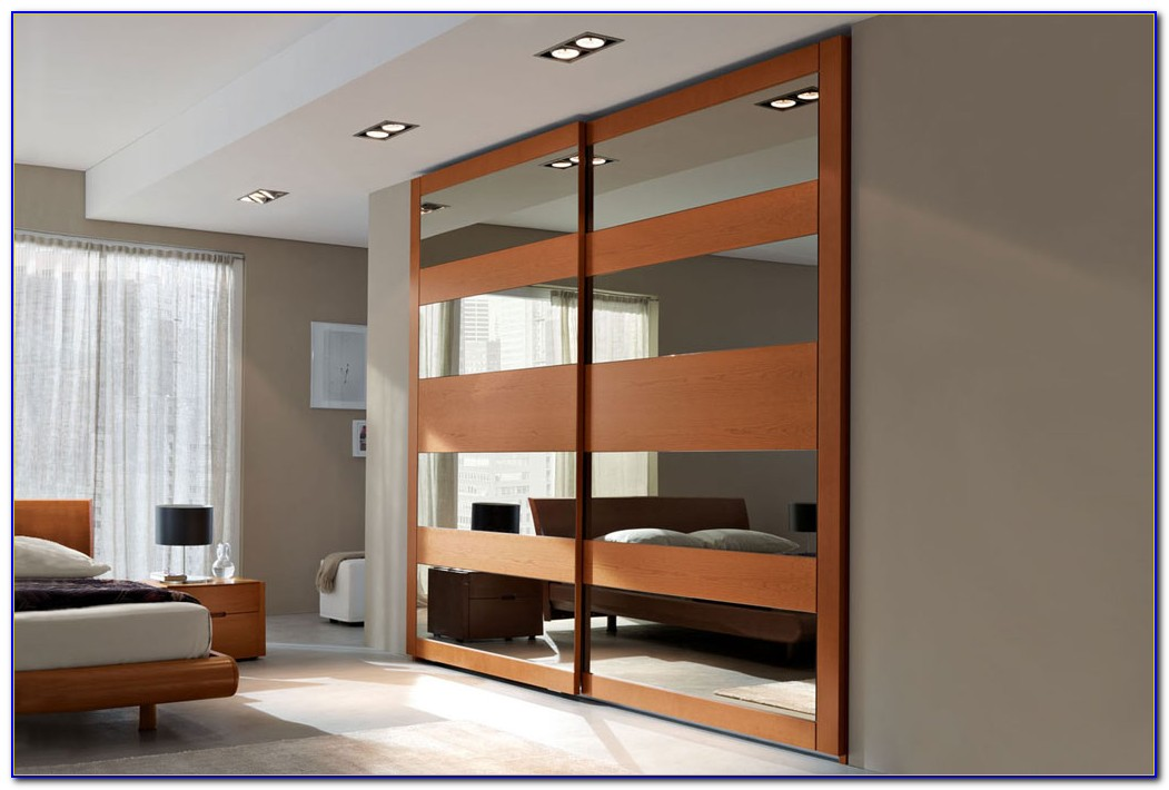 Bedroom Wardrobe Closet With Sliding Doors