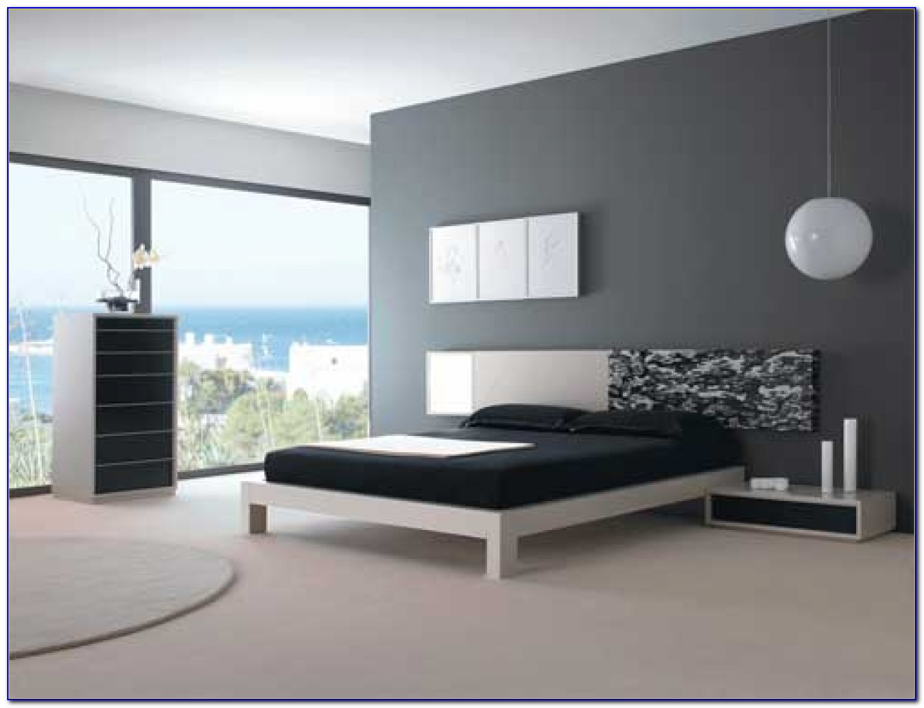 Black And Gray Bedroom Furniture