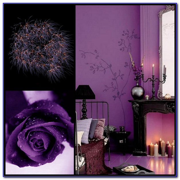 Black And Purple Wallpaper Designs