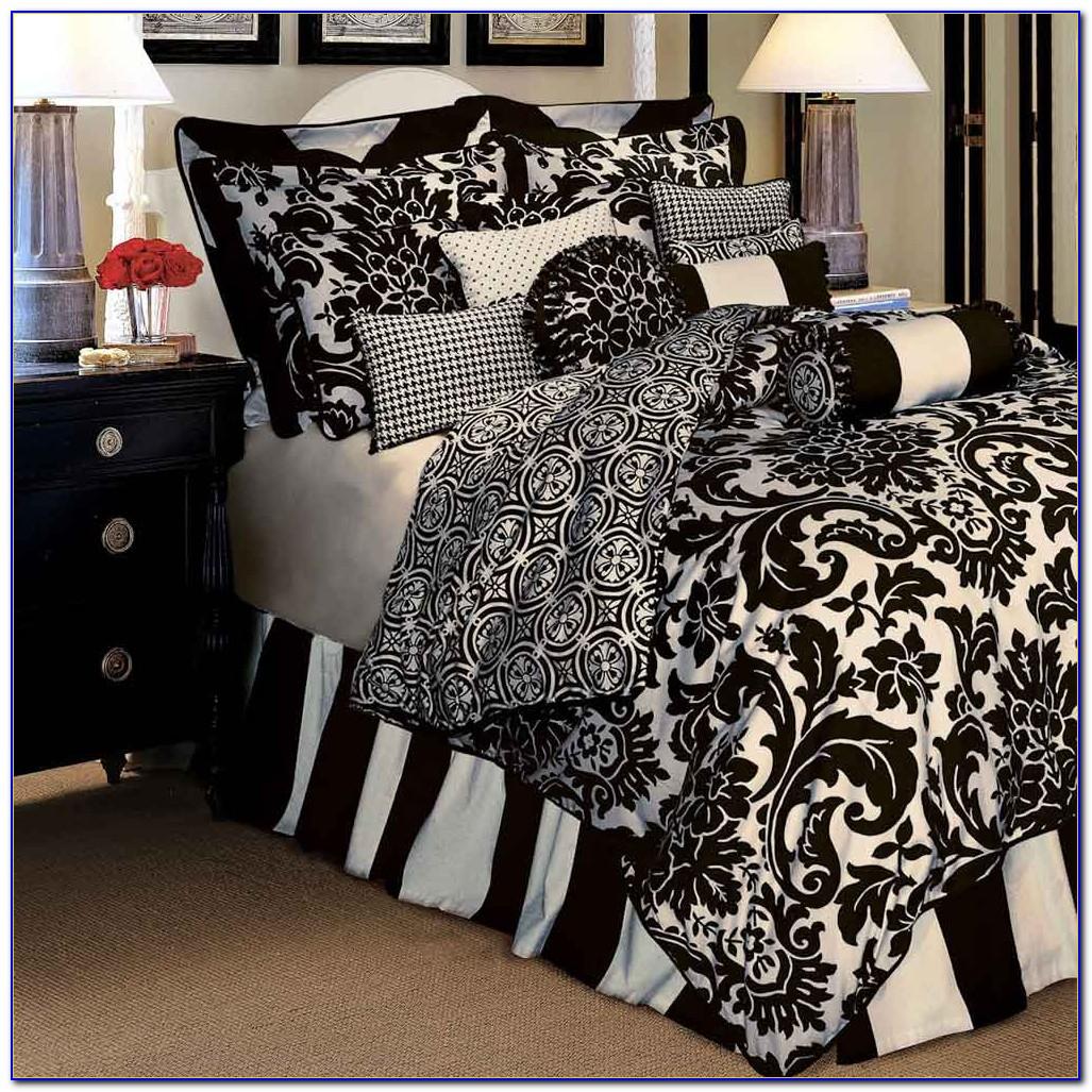 Black And White Comforter Sets Amazon