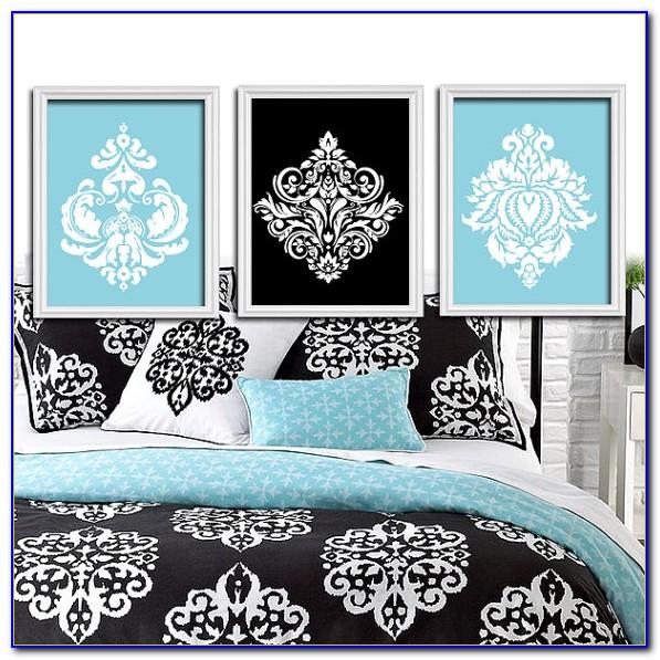 Black And White Damask Decorating Ideas