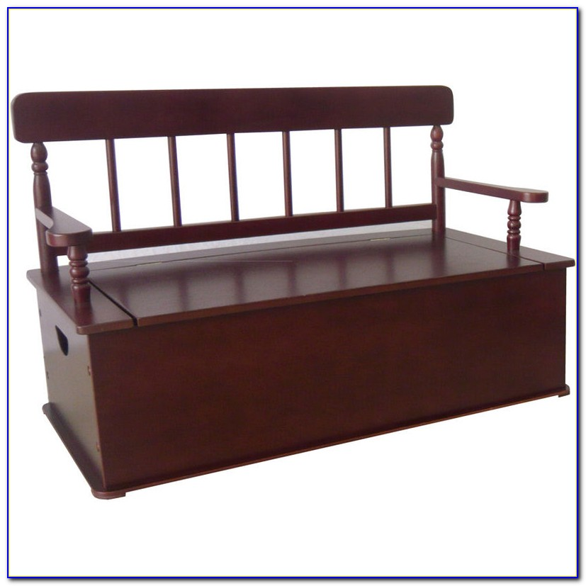 Black Leather Bedroom Storage Bench