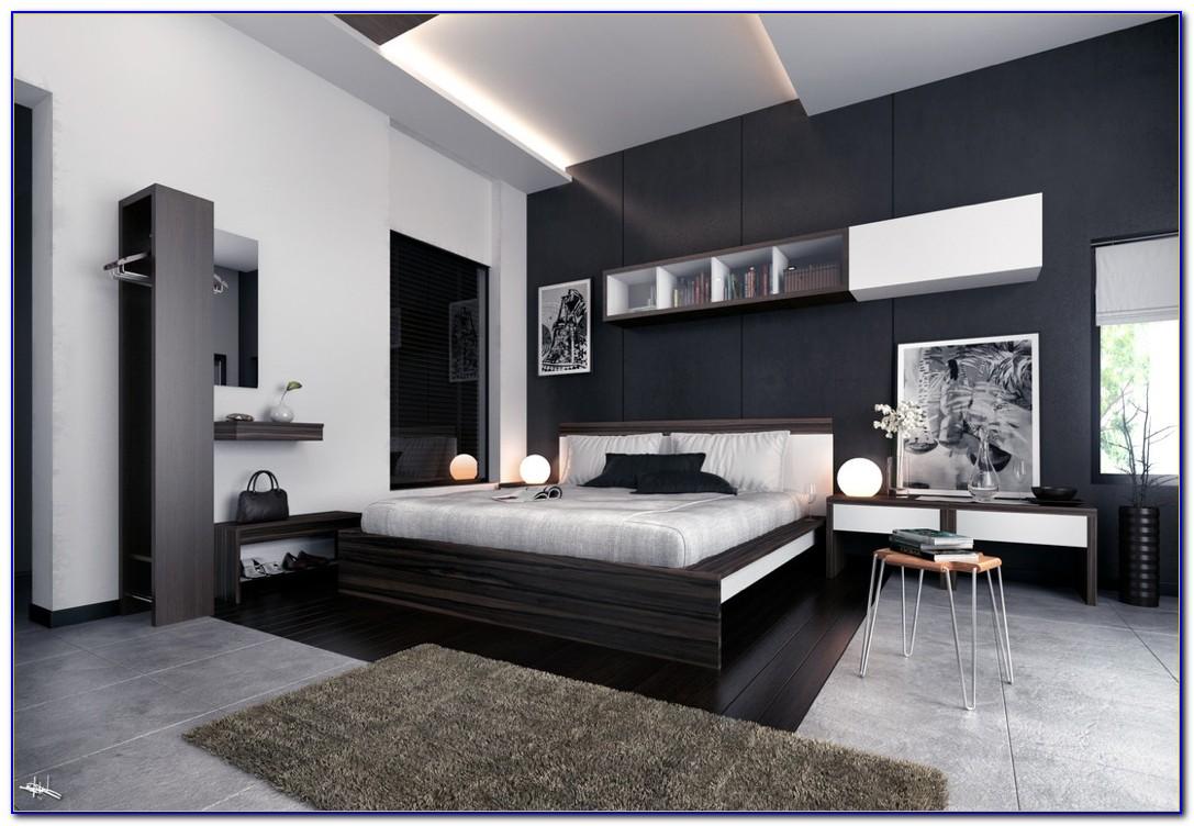 Black Modern Bedroom Furniture Sets