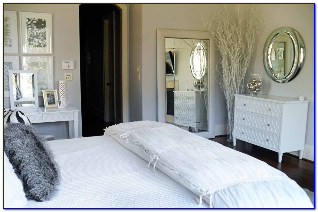 Black White And Silver Bedrooms