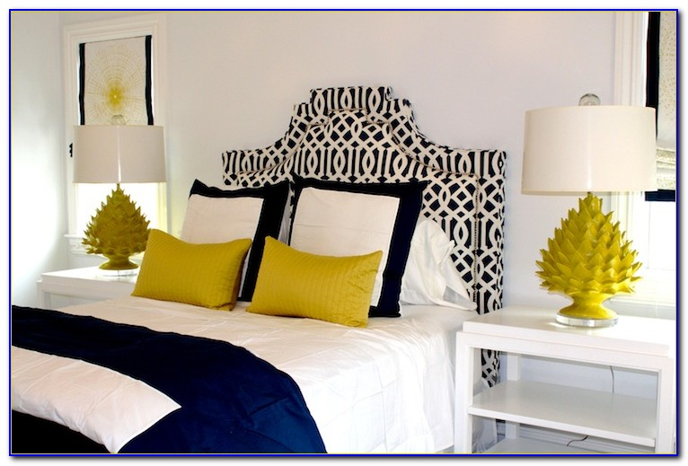 Blue And Yellow Bedroom Images