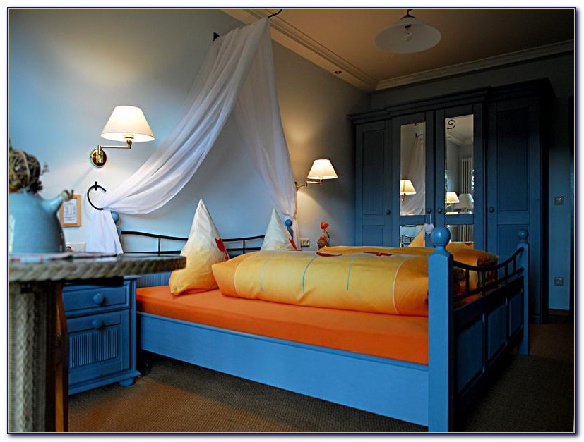 Blue And Yellow Room Decor