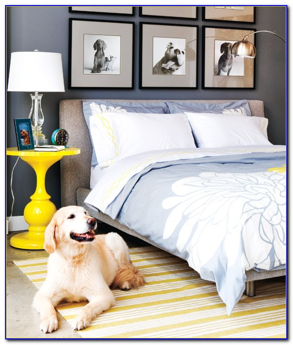 Blue Yellow And Grey Bedroom Ideas