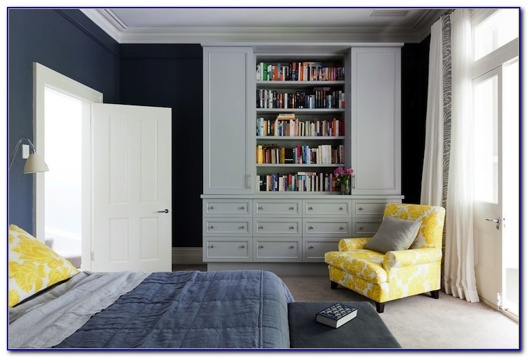Blue Yellow And Grey Decor