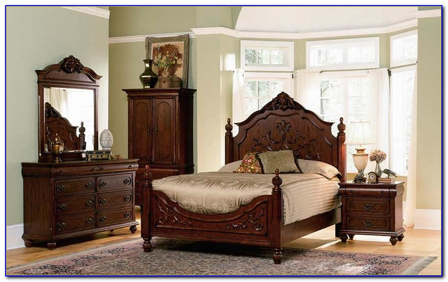 Cherry Wood Bedroom Sets Furniture