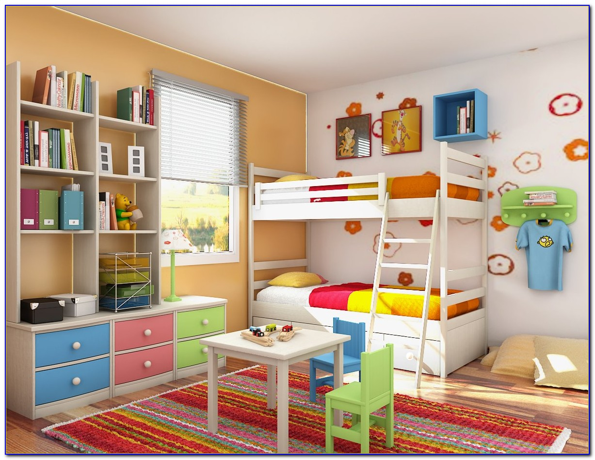 Childrens Bedroom Decorating Ideas Home