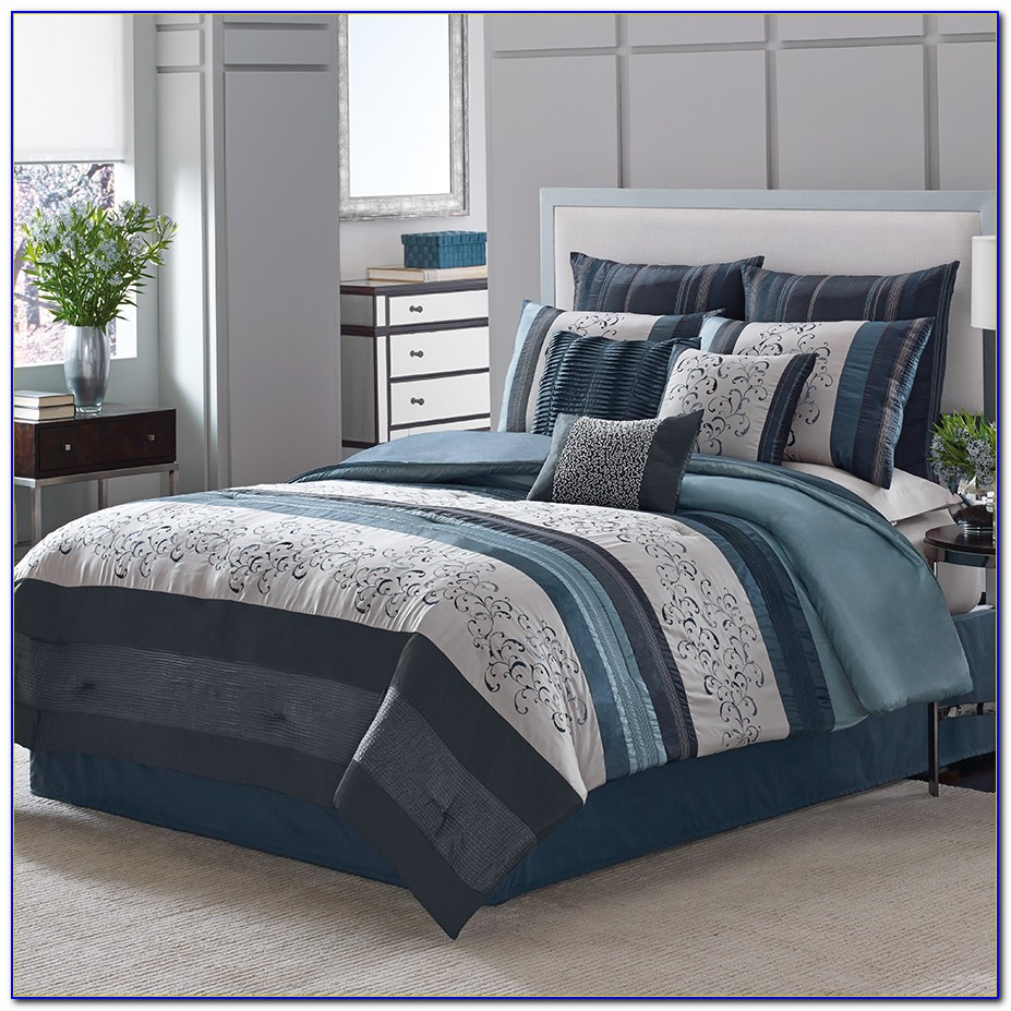 Complete Bedroom Bedding Sets With Curtains