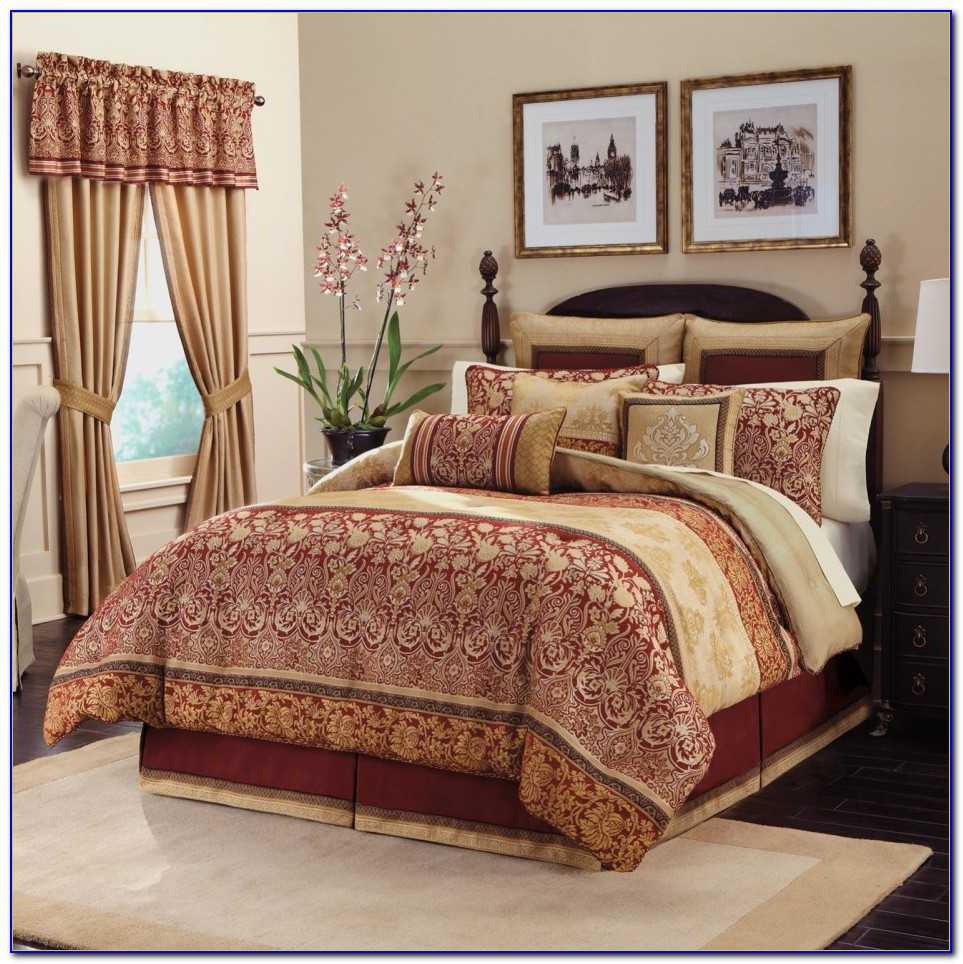 Complete Bedroom Sets With Curtains