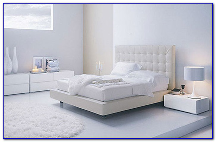 Contemporary White Bedroom Ideas