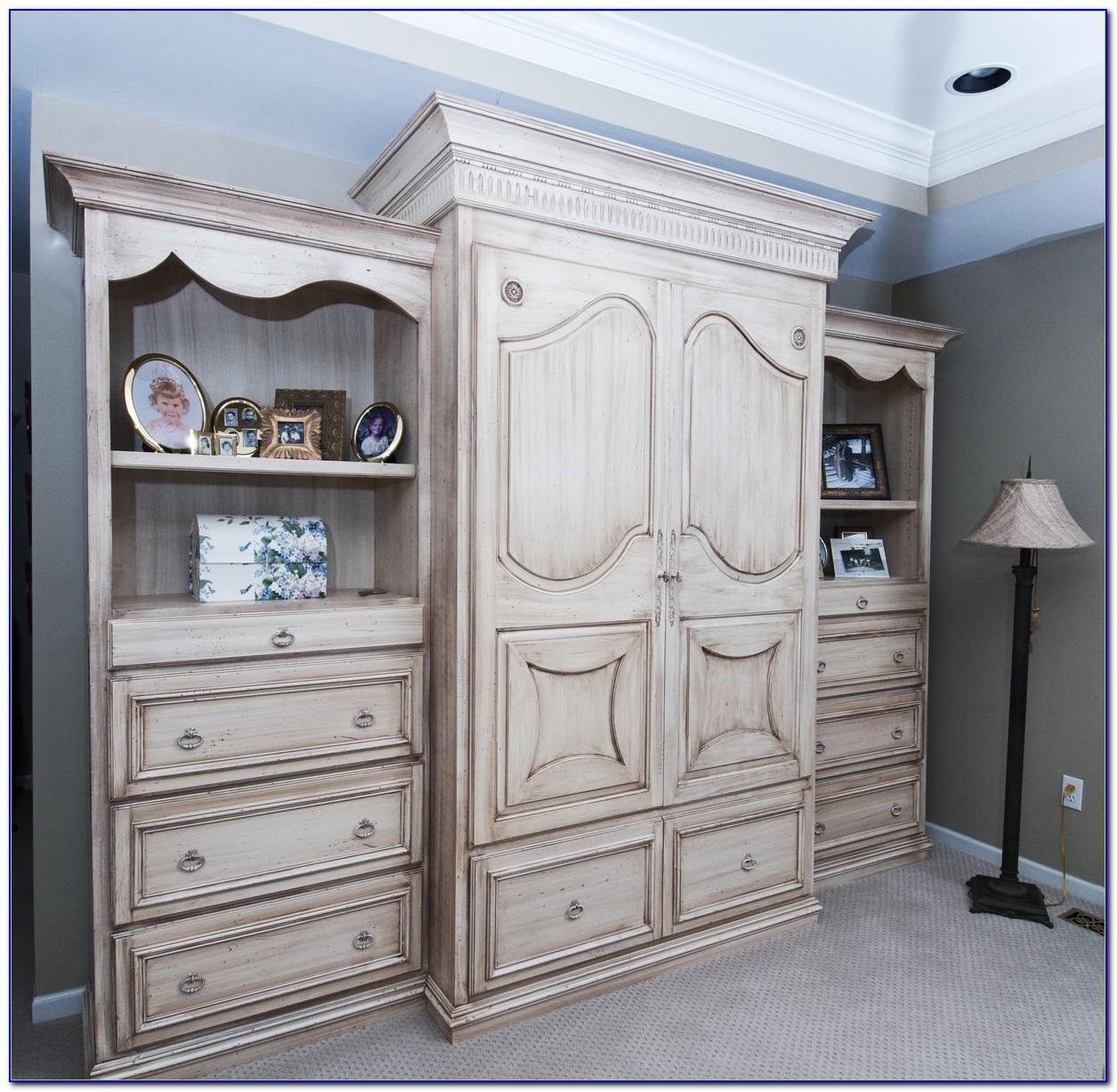 Custom Master Bedroom Wall Units