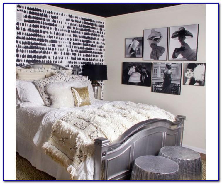 Decorating Teenage Girl Room Black White