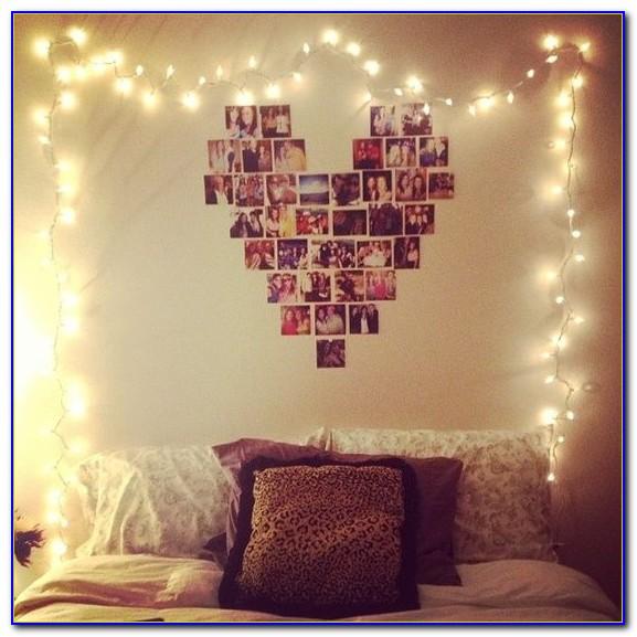 Decorative String Lights Bedroom
