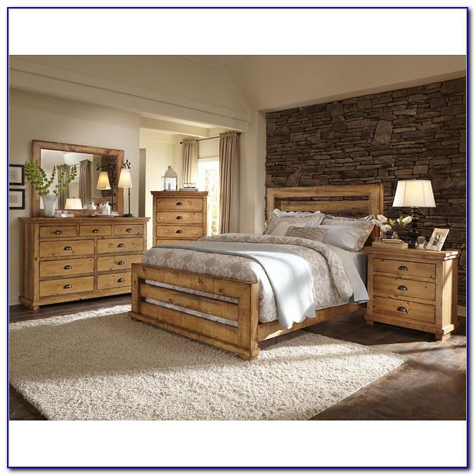 Distressed Pine Bedroom Furniture