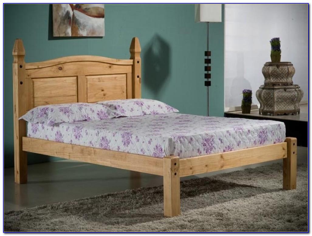 Distressed Wax Pine Bedroom Furniture
