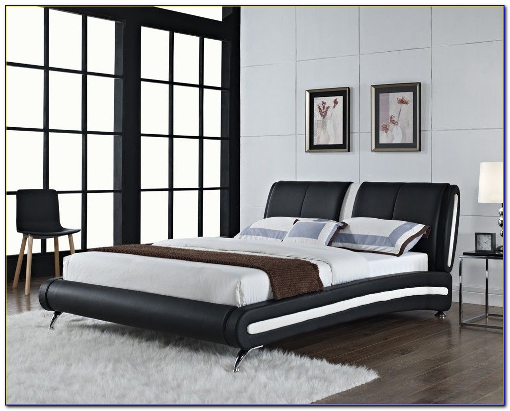 Faux Leather Bedroom Sets