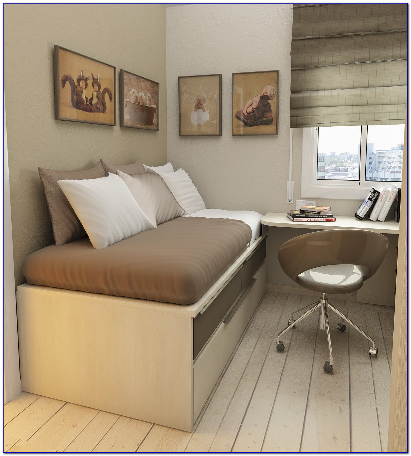 Fitted Bedroom Furniture For Small Spaces