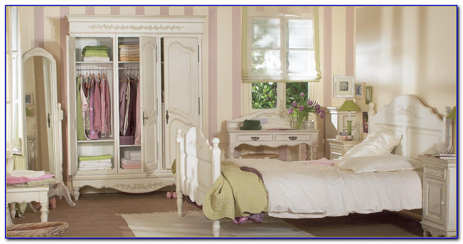 French Shabby Chic Bedroom Chairs