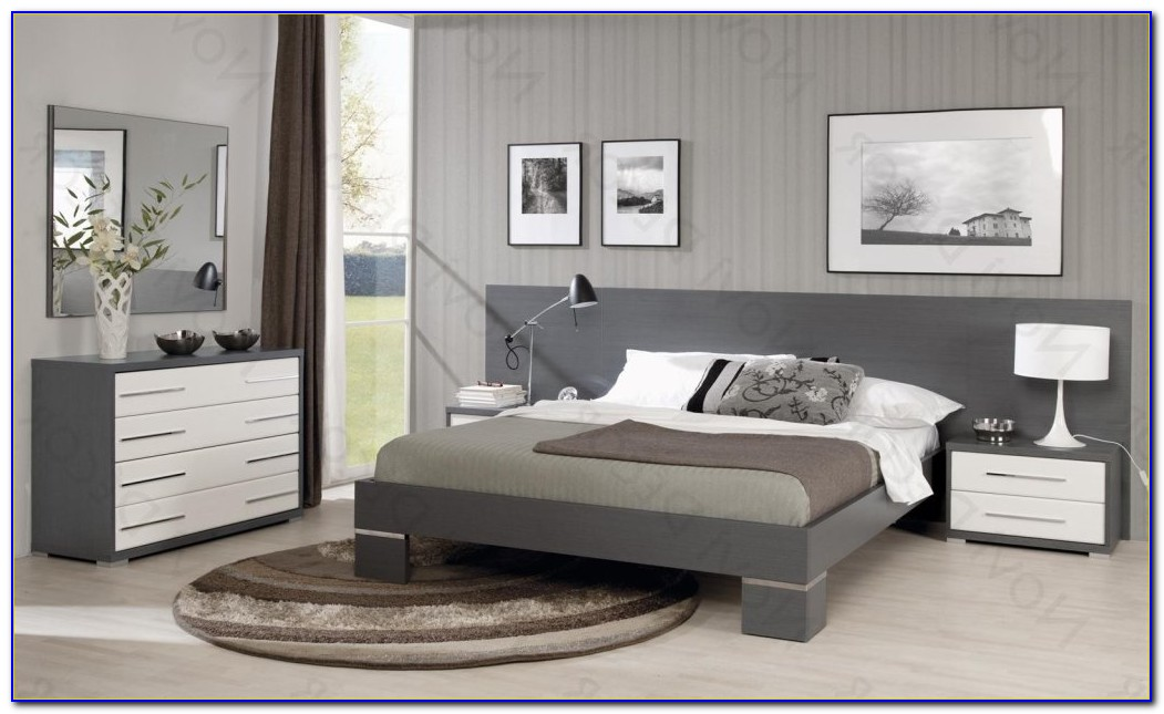 Grey Color Bedroom Furniture