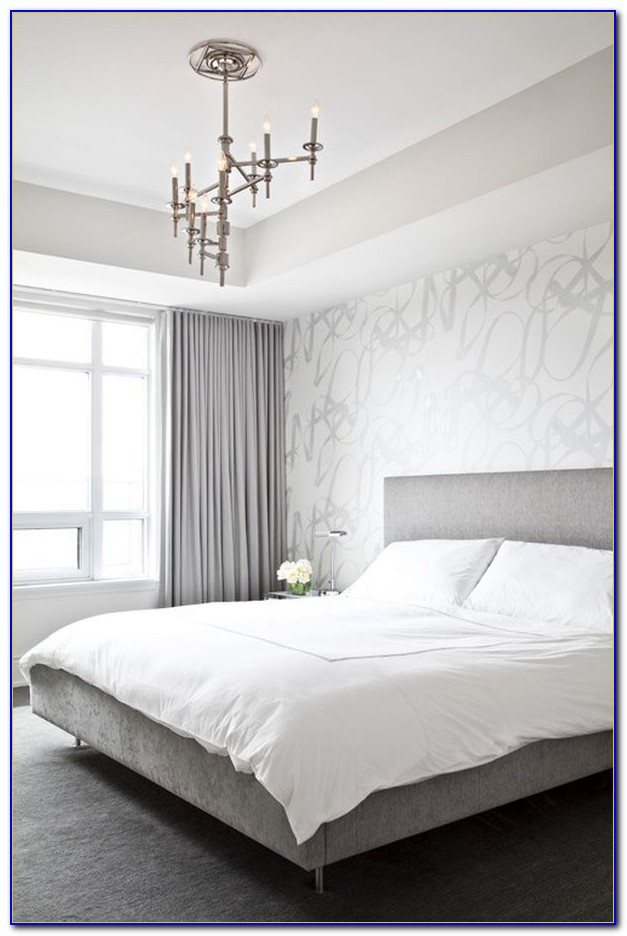 Grey White And Silver Bedrooms