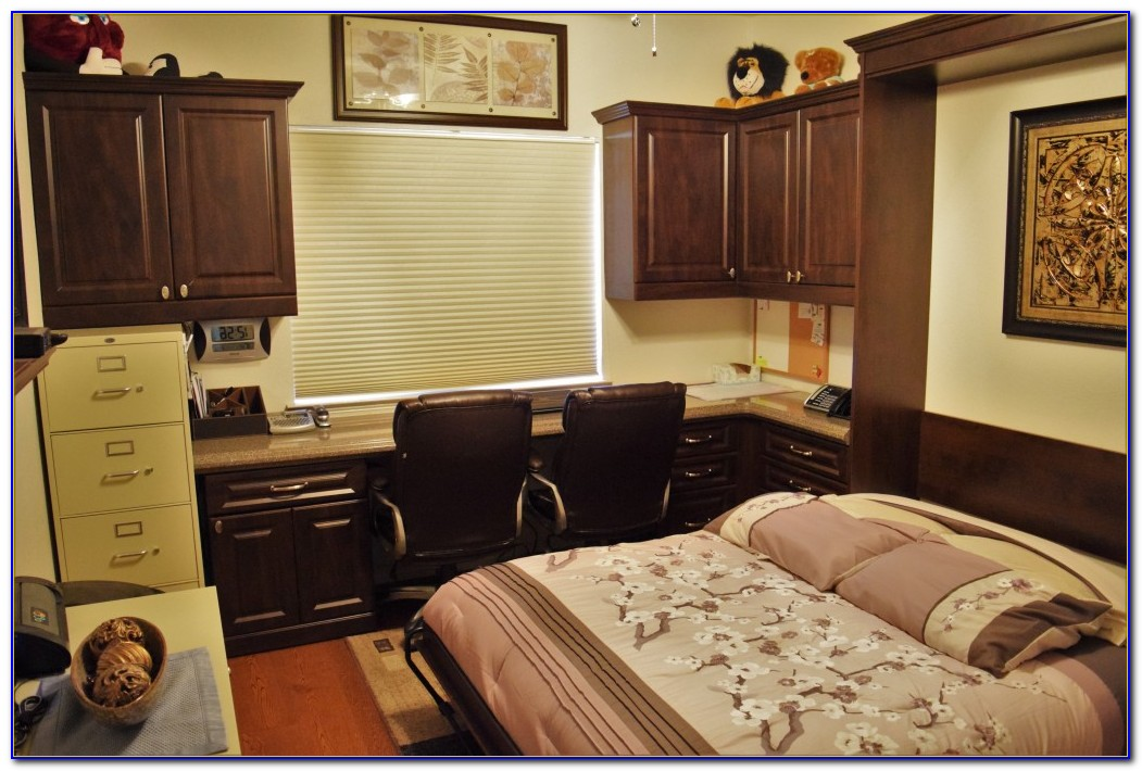 Guest Bedroom Home Office Combination