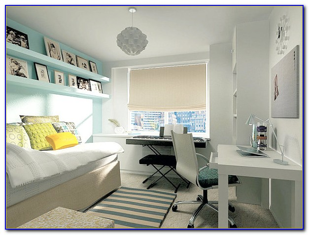 Home Office And Spare Bedroom Combination