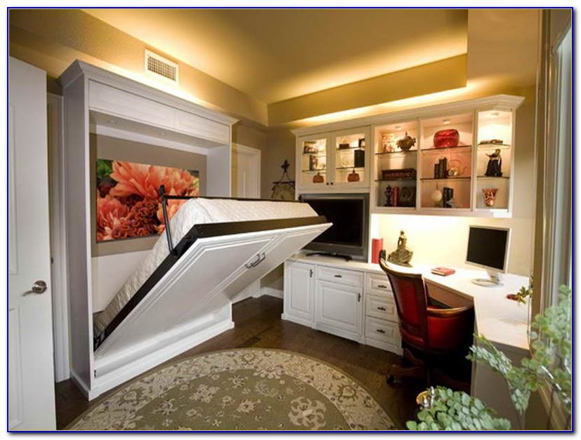 Home Office Bedroom Combination