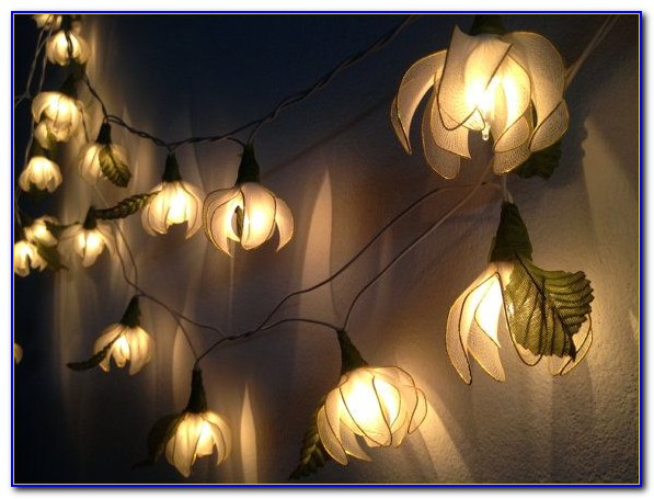 Indoor String Lights Decor