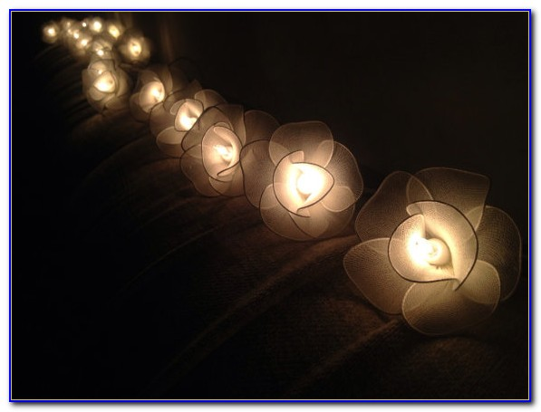 Indoor String Lights Decorating Ideas