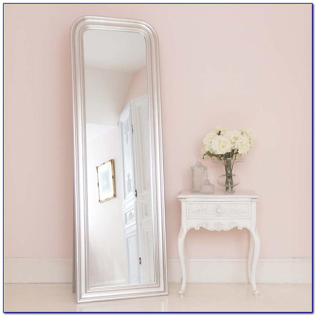 Large Free Standing Bedroom Mirror Jewellery Cabinet