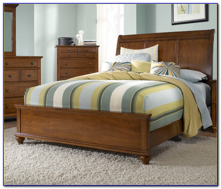 Light Cherry Wood Bedroom Furniture