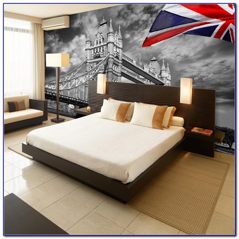 London Skyline Wallpaper For Bedroom