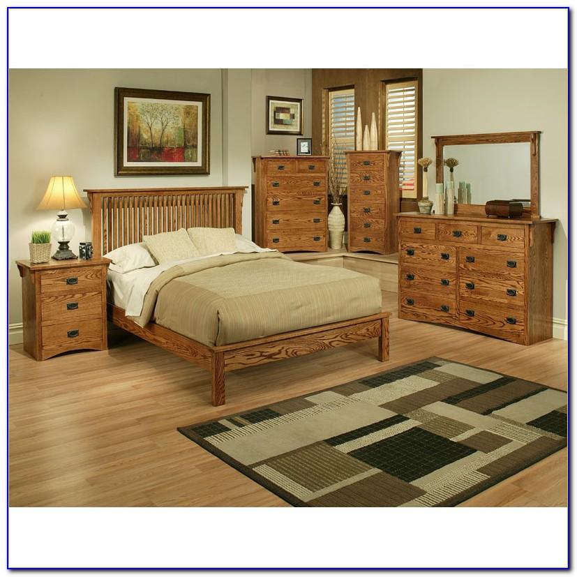 Mission Oak Bedroom Set