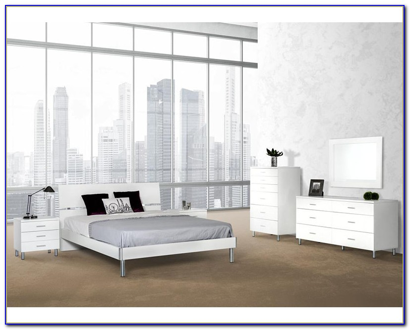 Modern White Bedroom Furniture Uk