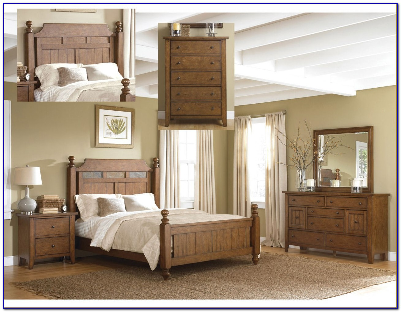 North Carolina King Bedroom Set