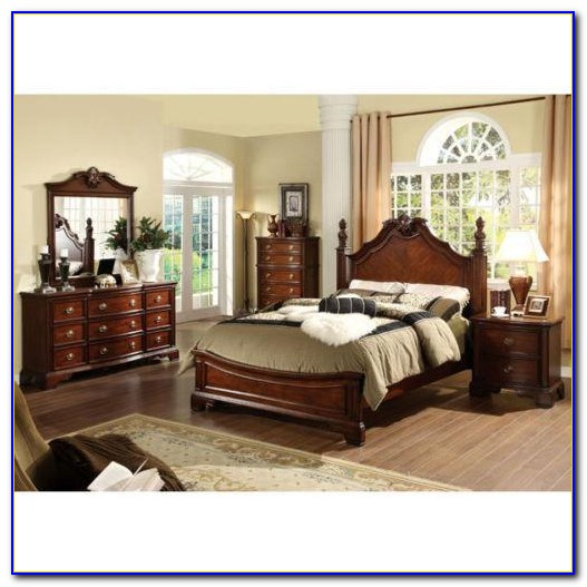 Oak California King Bedroom Set