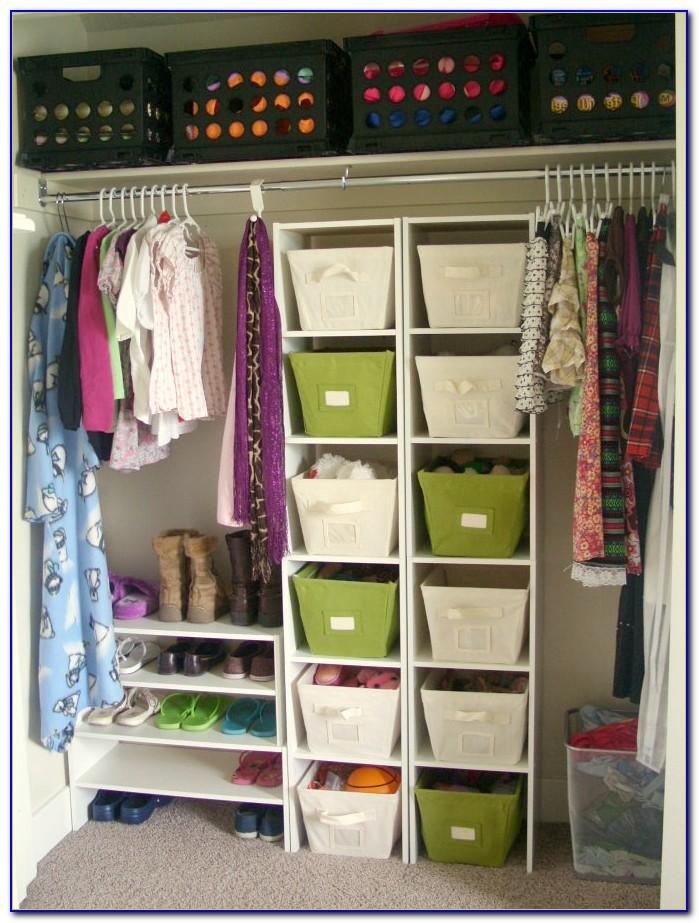 Organization Ideas For Small Bedroom Closets