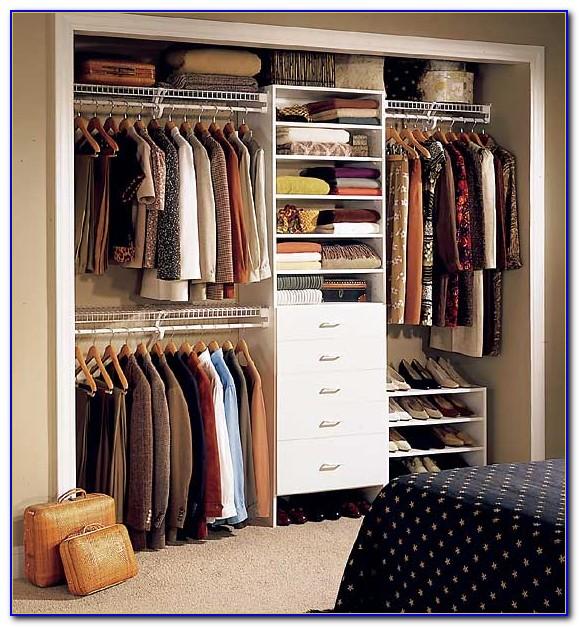 Organize A Small Bedroom Closet