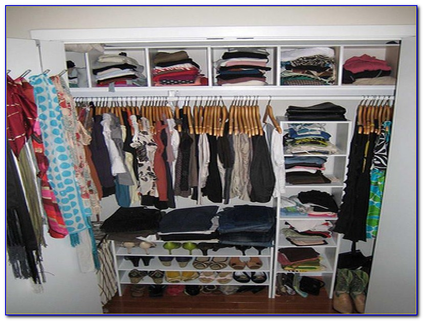 Organize Your Small Bedroom Closet