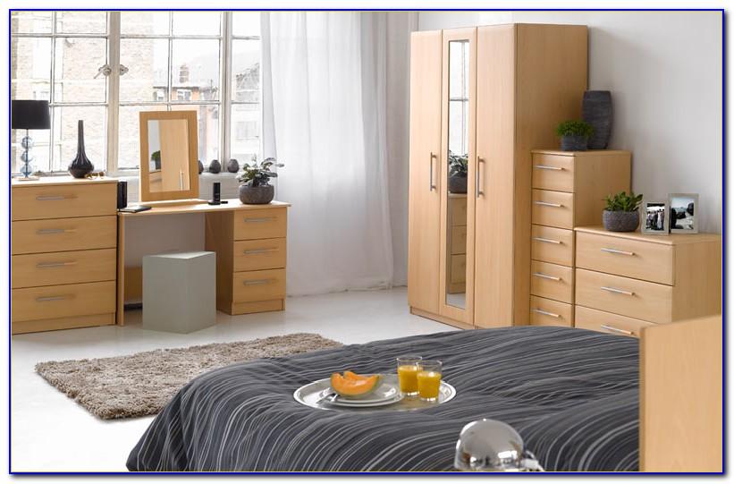 Pre Assembled Pine Bedroom Furniture