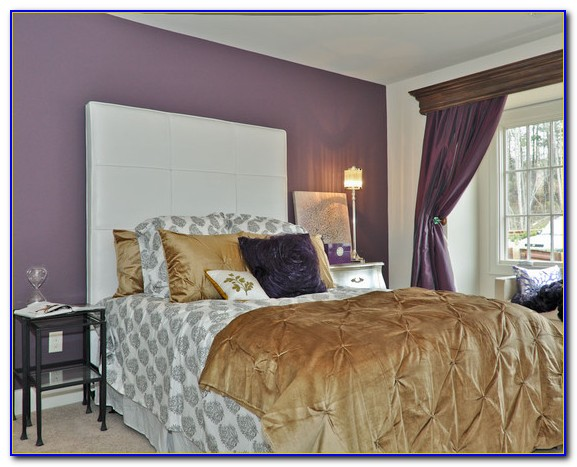 Purple And Gold Bedroom Accessories