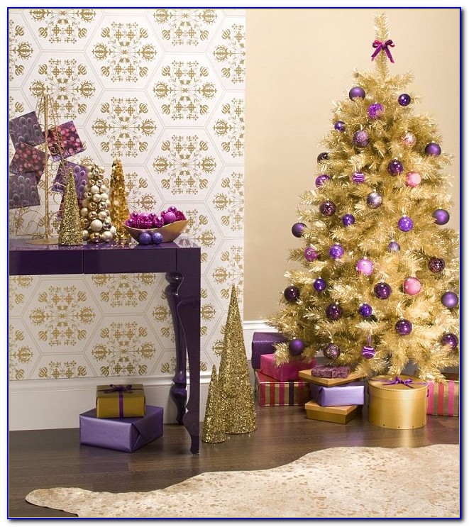 Purple And Gold Room Ideas