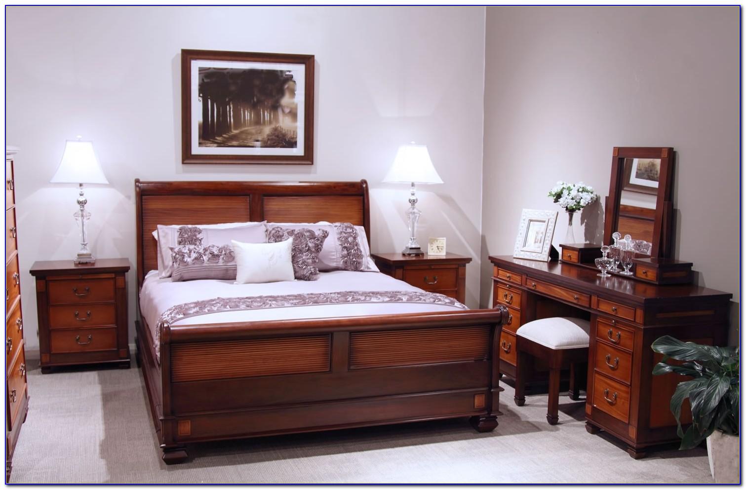 Queen Anne Single Bedroom Suite